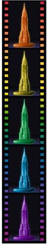 3D Puzzel - Chrysler Building - Night Edition (216 stukjes)-3
