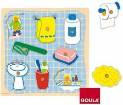Kinderbad Knopjespuzzel (8 stukjes)