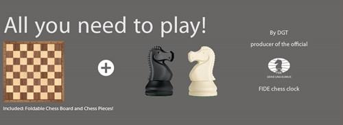 DGT Chess Starter Box Grijs-2
