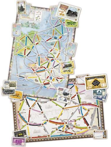 Ticket To Ride - United Kingdom Uitbreiding-3