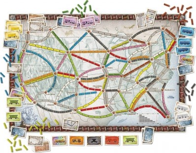 Ticket To Ride (Engels)-2