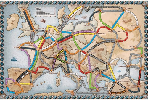 Ticket To Ride Europa-2