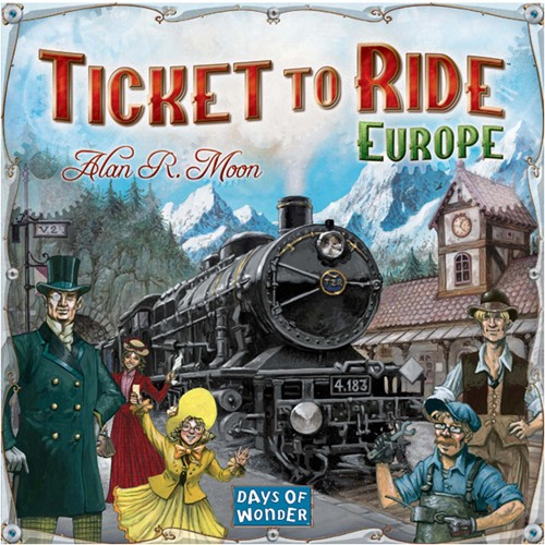Ticket To Ride Europe (Engels)-1