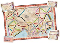 Ticket To Ride - Asia Uitbreiding-2