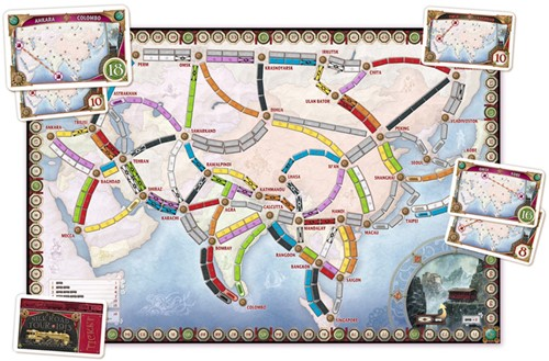 Ticket To Ride - Asia Uitbreiding-3