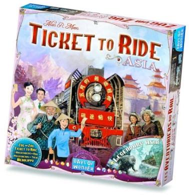 Ticket To Ride - Asia Uitbreiding-1
