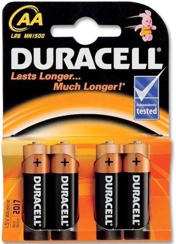Duracell Plus AA MN1500 / LR6 (4 stuks)