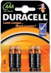 Duracell Plus Power AAA MN2400 / LR03 (4 stuks)