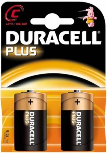 Duracell Plus Power C MN1400 / LR14 (2 stuks)