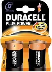 Duracell Plus Power D MN1300 / LR20 (2 stuks)