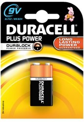 Duracell Plus Power MN1604 9 Volt