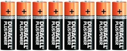 Duracell Plus Power MN1500 AA Batterijen (8 stuks)