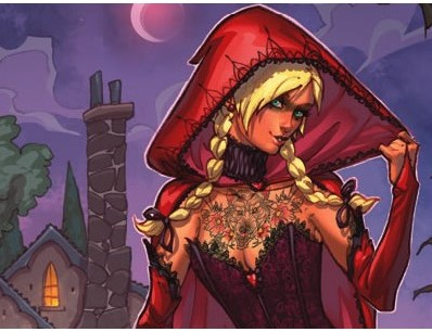 Dark Tales - Little Red Riding Hood-2