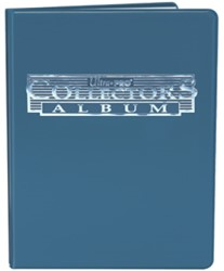 4-Pocket Portfolio Collectors Blauw