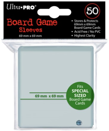 Board Game Sleeves - Special Sized (69x69 mm)