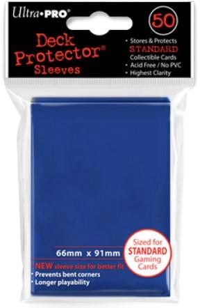 Sleeves - Standaard Blauw (66x91 mm)