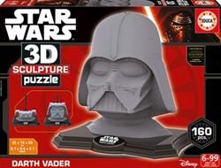 3D Sculpture Puzzel - Darth Vader (160 stukjes)