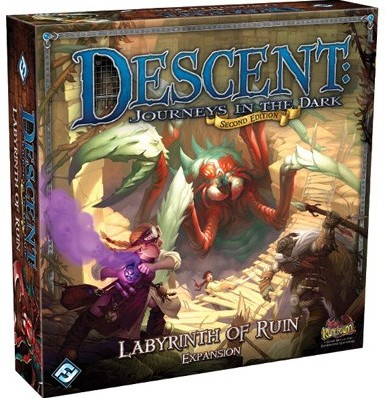 Descent Journeys In The Dark - Labyrinth Of Ruin Expansion