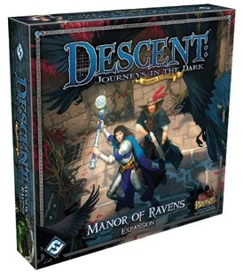 Descent Journeys In The Dark - Manor Of Ravens Expansion