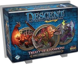 Descent Journeys In The Dark - Treaty Of Champions Expansion