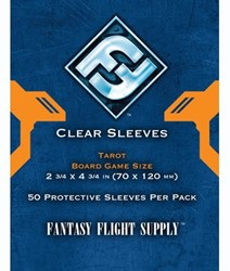 Fantasy Flight - Clear Sleeves (70x120 mm)