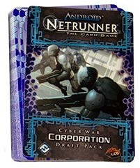 Android Netrunner LCG Cyber War Corporation Draft Pack