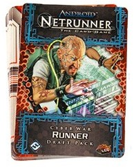 Android Netrunner LCG Cyber War Runner Draft Pack