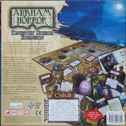 Arkham Horror Uitbreiding - Kingsport Horror