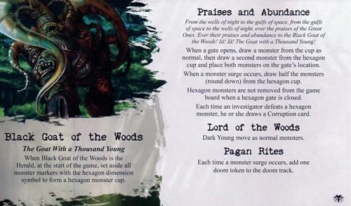 Arkham Horror Uitbreiding - Black Goat Of The Woods-3