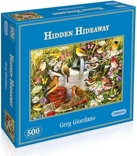 Hidden Away Puzzel (500 stukjes)-1