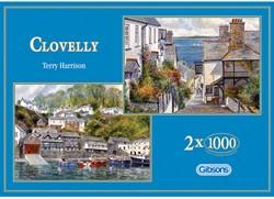 Clovelly Puzzel (2x1000 stukjes)