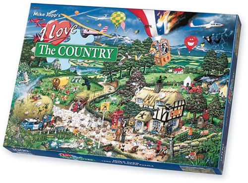I Love the Country Puzzel (1000 stukjes)-1