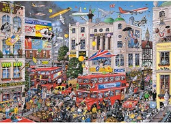 I Love London Puzzel (1000 stukjes)