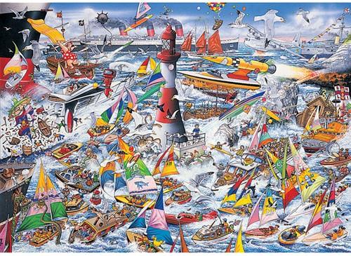 I Love Boats Puzzel (1000 stukjes)