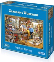 Granddad's Workshop Puzzel (1000 stukjes)