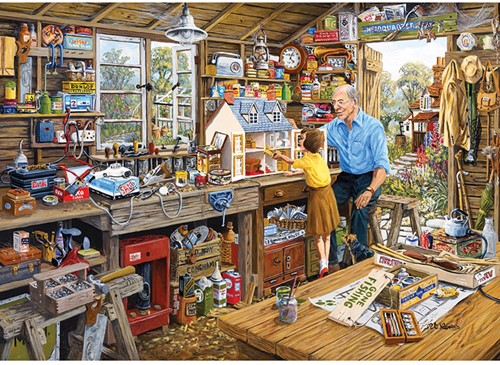 Granddad's Workshop Puzzel (1000 stukjes)-2