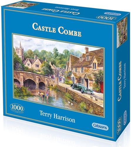 Castle Combe Puzzel (1000 stukjes)-1