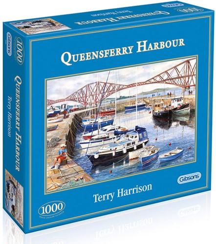Queensferry Harbour Puzzel (1000 stukjes)-1