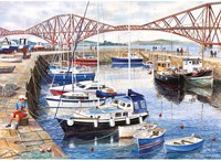 Queensferry Harbour Puzzel (1000 stukjes)-2