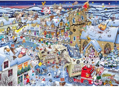 I Love Christmas Puzzel (1000 stukjes)