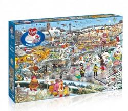 I Love Winter Puzzel (1000 stukjes)