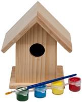 Schilder Je Eigen Vogelhuis Middel-1