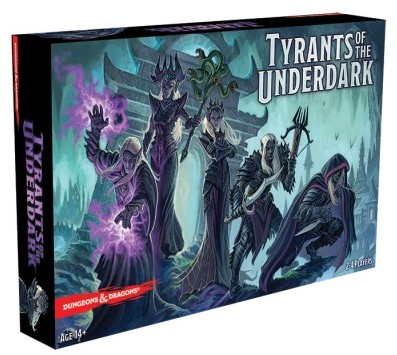 Dungeons & Dragons - Tyrants of the Underdark-1