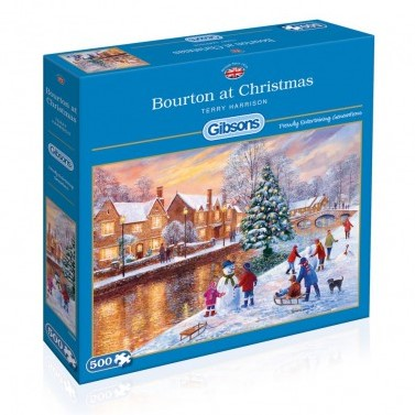 Bourton at Christmas Puzzel (500 stukjes)