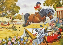 Up for the Cup - Thelwell Puzzel (1000 stukjes)