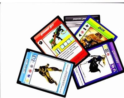 Villains and Vigilantes Card Game-2