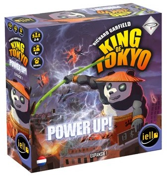 King of Tokyo - Power Up Uitbreiding (NL)