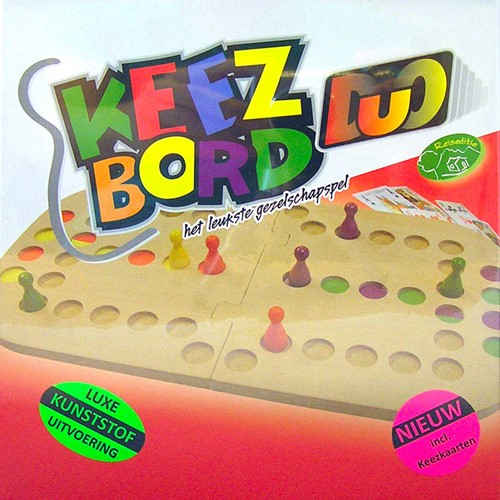Keezbord Duo Kunststof (Doos beschadigd)