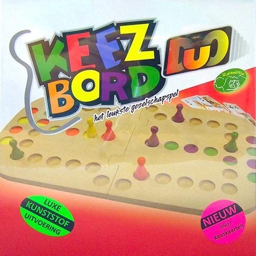 Keezbord Duo Kunststof (doosje beschadigd)