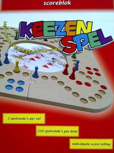 Keezbord - Scoreblok